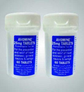 Anti-Sea Sickness Tablets